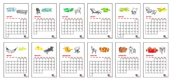 Eupalina muebles for Muebles de carton pdf