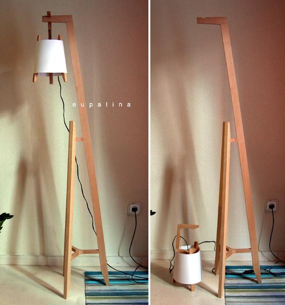 Eupalina muebles for Plafones de madera pared